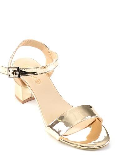 Bambi Topuklu Ayakkabı Altın